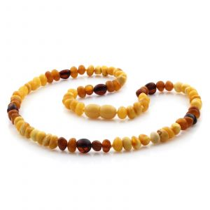 Natural Baltic Amber Junior Necklace. JN24