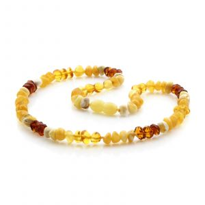 Natural Baltic Amber Junior Necklace. JN26