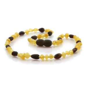 Baltic Amber Teething Necklace. Limited Edition LX2