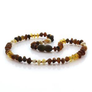 Baltic Amber Teething Necklace. Limited Edition LX3