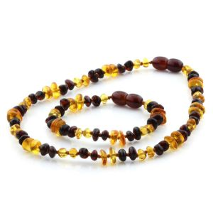 Baltic Amber Teething Necklace & Bracelet Set. Limited Edition LE07