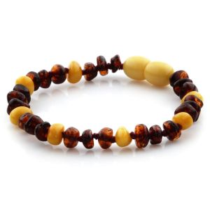 Baltic Amber Teething Bracelet. Limited Edition LE11