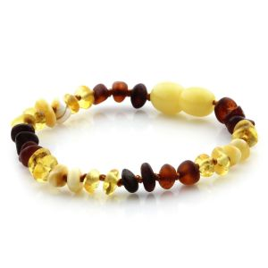Baltic Amber Teething Bracelet. Limited Edition LE08