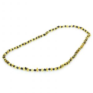 80cm Long Genuine Baltic Amber Necklace for Adult. AGS030