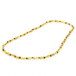 80cm Long Genuine Baltic Amber Necklace for Adult. AGS013A