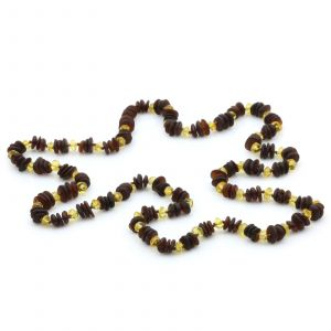 70cm Long Genuine Baltic Amber Necklace for Adult. AGS032