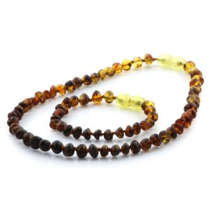Baltic Amber Teething Necklace & Bracelet Set. Limited Edition LE13