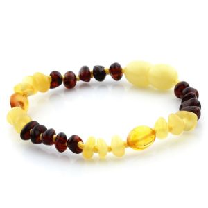 Baltic Amber Teething Bracelet. Limited Edition LE21
