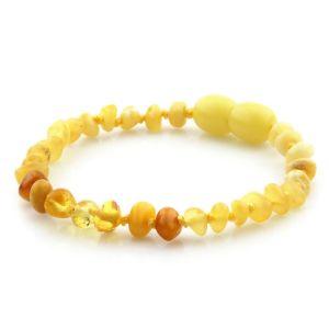 Baltic Amber Teething Bracelet. Limited Edition LE14