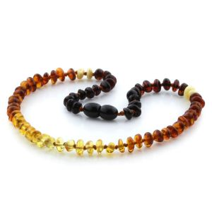 Baltic Amber Teething Necklace. Limited Edition LE16