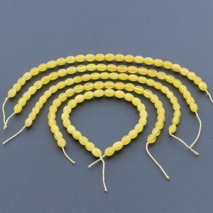 Natural Baltic Amber Loose Beads Strings Set of 5pcs. 19gr. ST997