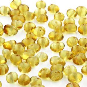 50 pcs. Loose Baltic Amber Beads Yellow Ba 5x4mm