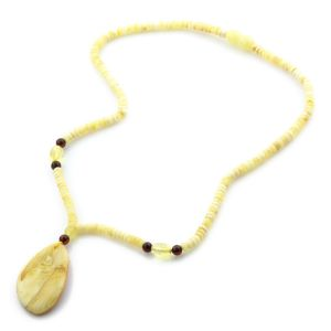 Natural Baltic Amber Necklace with Pendant 45cm 11gr. NP39